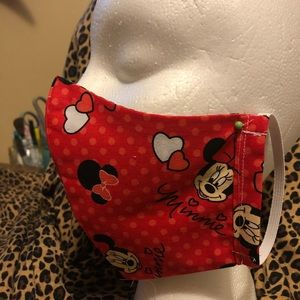 Other - Minnie Mouse face covering